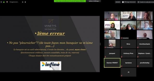 Savoir financer ses idées par Damien FREROT de Vanetys Membre Pollen